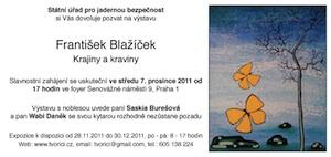Pozvánka Krajiny a kraviny, SUJB 2011